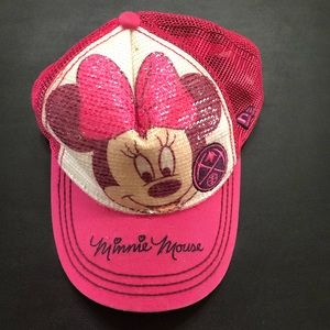 New Era Minnie Mouse Youth Hat Pink
